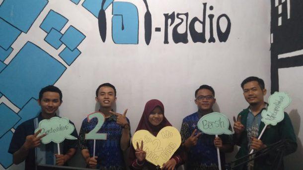 Capres-Cawapres Nomor Urut 2 Siaran di A-Radio 101,1 FM Bandar Lampung