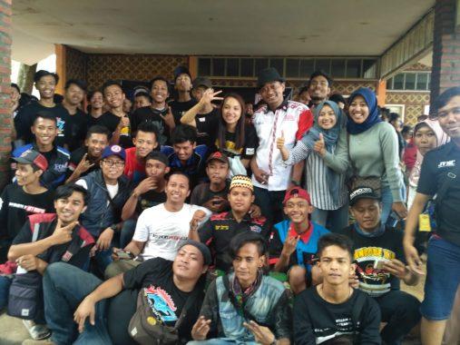Ratusan Bikers Yamaha Club Vega Indonesia Jambore di Kuningan, Bayu Saputra dari Lampung Terpilih Ketua Umum