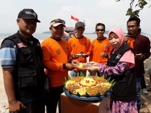 Corps Ranger Taruna Indonesia Serahkan Rp11 Juta ke ACT Lampung untuk Shelter Korban Gempa Lombok