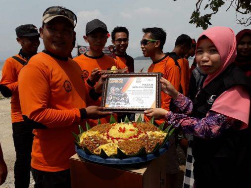 Serahkan Bantuan ke ACT Lampung, Corps Ranger Taruna Indonesia: Jangan Lupakan Lombok