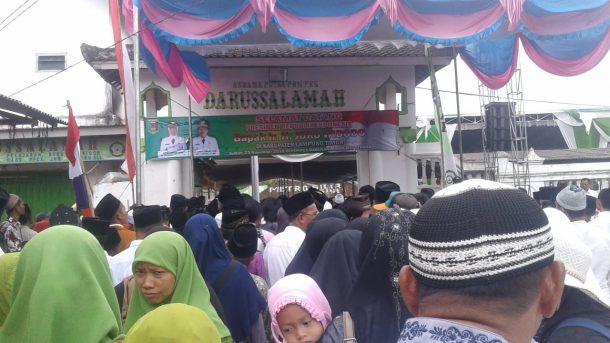 Advertorial: Hadiri Acara di Ponpes Darussalamah Lampung Timur, Presiden Jokowi Ajak Warga Jaga Kerukunan
