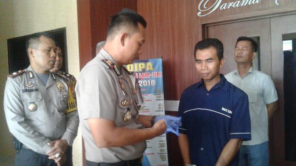 Lakukan Kekerasan Seksual pada Anak Tiri hingga Melahirkan, Warga Bandarsribhawono Lampung Timur Ini Dibekuk