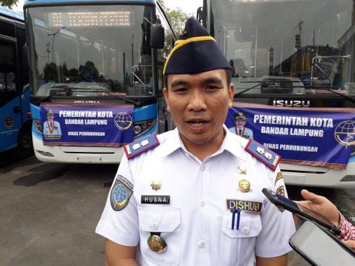 Terima 10 Bus Kemenhub, Wali Kota Bandar Lampung Herman HN: Ini Jadi Angkutan Umum Tarif Murah