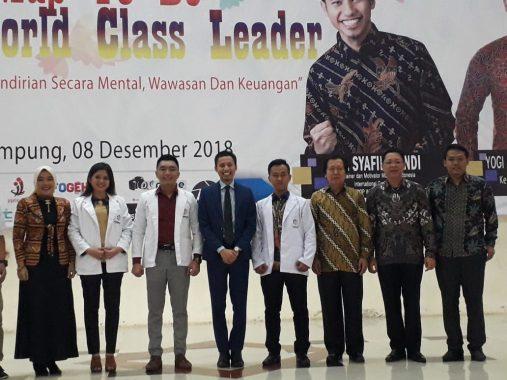 Buka Seminar Wirausaha Muda Nusantara, Sukarma Wijaya Dorong Pemuda Berwirausaha
