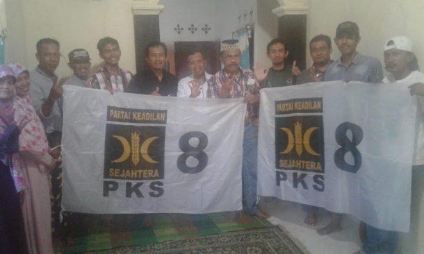 Caleg PKS Dapil 1 Tanggamus Rapat Konsolidasi di Pematangsawa