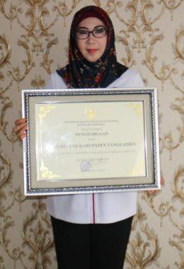 Tanggamus Terima Penghargaan Kabupaten Peduli Hak Asasi Manusia