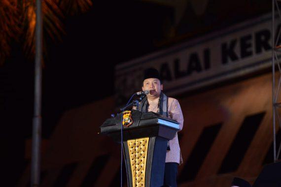 Gubernur Ridho Ficardo Hadiri Tablig Akbar dan Lampung Bersholawat
