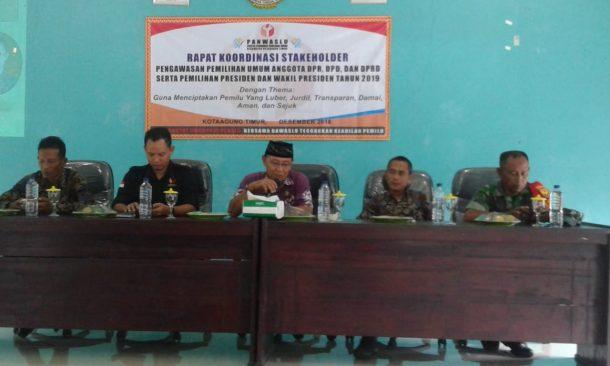 Panwascam Kotaagung Timur Sosialisasi Pengawasan Pemilu