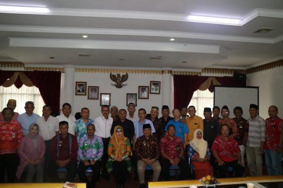 Bupati Tanggamus Dewi Handajani Silaturahmi Calon Pengurus Forum Bhinneka Tunggal Ika