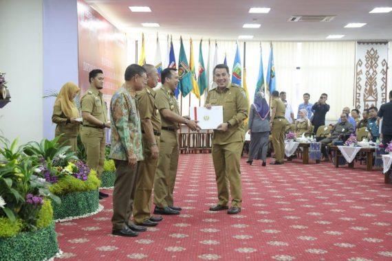 Gubernur Lampung Ridho Ficardo Serahkan DIPA 2019