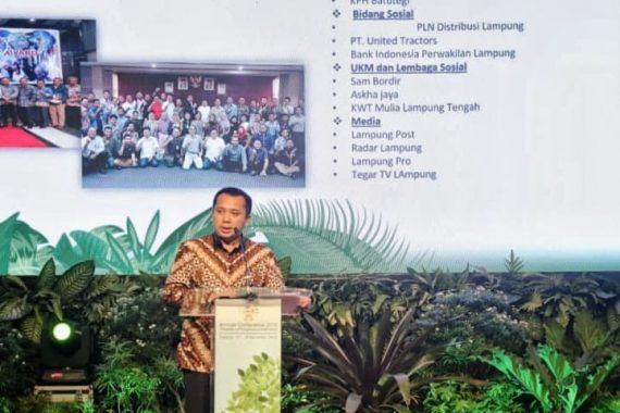 Gubernur Lampung Ridho Ficardo Jadi Narasumber SDGs Tingkat Nasional
