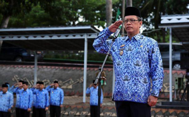 Akhir Tahun, Asisten Adum Pemkab Lampung Selatan Minta ASN Introspeksi Diri