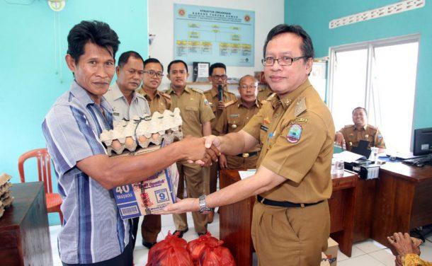 Tim IV Tanggap Bencana Lampung Selatan Salurkan Bantuan Bagi Warga Penengahan