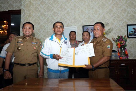 Pemkab Lampung Selatan Serahkan Hibah Tanah 5.682 Meter Persegi Kepada BNN