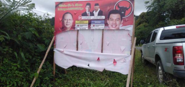 APK Dirusak di Lampung Barat, Yanuar: Tolong Ditindak!