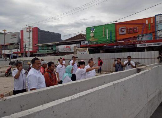 Wali Kota Bandar Lampung Herman HN Minta Underpass Dirapikan Agar Lekas Diresmikan