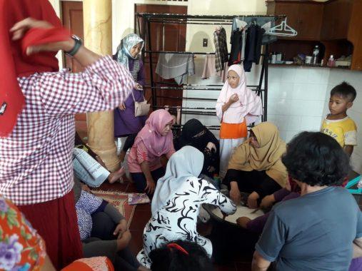 Yuni Karnelis Inisiasi Pelatihan Bikin Sabun Cuci, Begini Tips Membuatnya