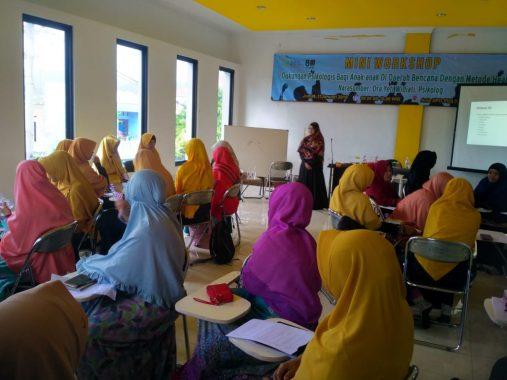 Pengurus PKS Bandar Lampung Dibekali Teknik Penanganan Anak-Anak Daerah Bencana
