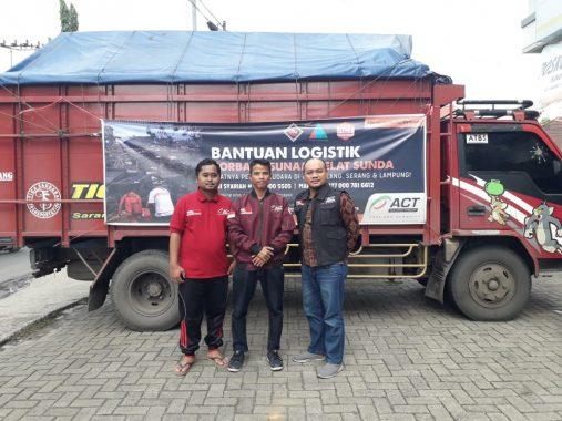 ACT Lampung Terima Sumbangan Beras 1,6 Ton dari Warga Sumatera Selatan untuk Pengungsi Tsunami Lampung Selatan