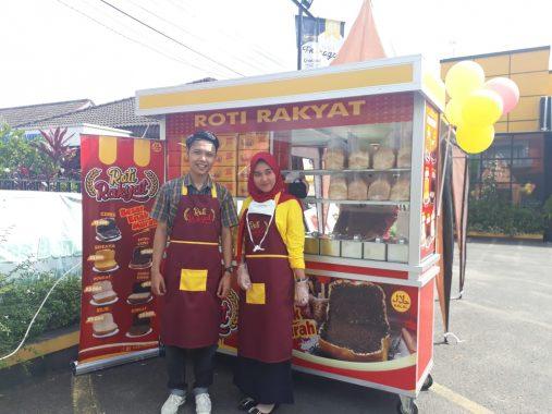 Roti Rakyat Binaan Banana Foster Yakin Disukai Warga Bandar Lampung