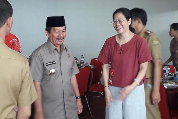 Wali Kota Bandar Lampung Herman HN Apresiasi Kunjungan Wakil Konsulat Jenderal Republik Rakyat Tiongkok