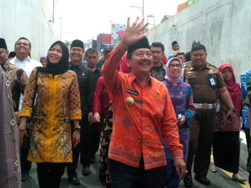 Antisipasi Banjir, Wali Kota Bandar Lampung Herman HN Perintahkan Pengerukan Sampah Drainase