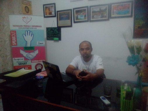 Rumah Singgah Peduli Lampung Bantu Keluarga Pasien Tak Mampu, Ini Kata Ketua Komunitas Peduli Generasi Encep Supriadi