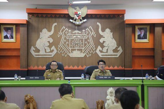 Pemprov Lampung Siap Sukseskan Bulan Bakti Karang Taruna Tingkat Nasional