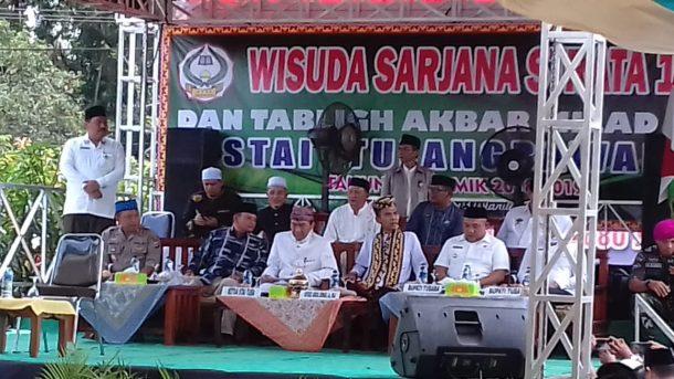 Bupati Tulangbawang Barat Umar Ahmad Berharap Ceramah Ustaz Abdul Somad Tingkatkan Iman dan Takwa