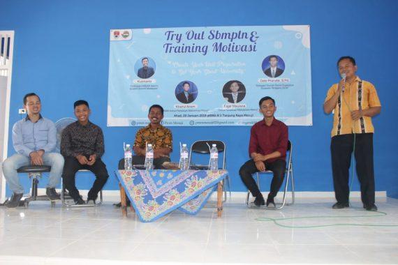 Persatuan Mahasiswa Mesuji Sukses Gelar Tryout SBMPTN