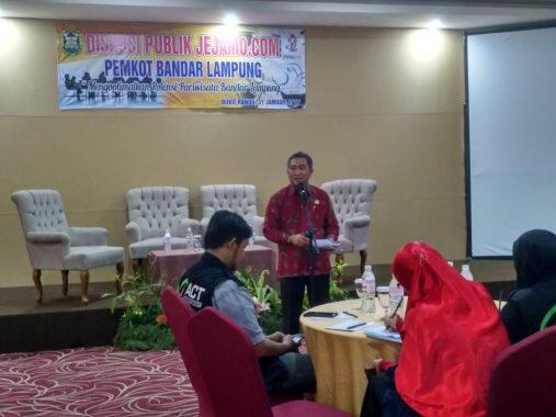 Diskusi Jejamo.com-Pemkot Bandar Lampung, Sekda Badri Tamam: Kami Terbuka dengan Masukan