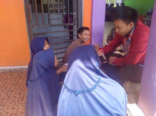 Peserta Pelatihan Jurnalistik SMK Muhammadiyah Kotaagung Antusias Belajar Jadi Reporter
