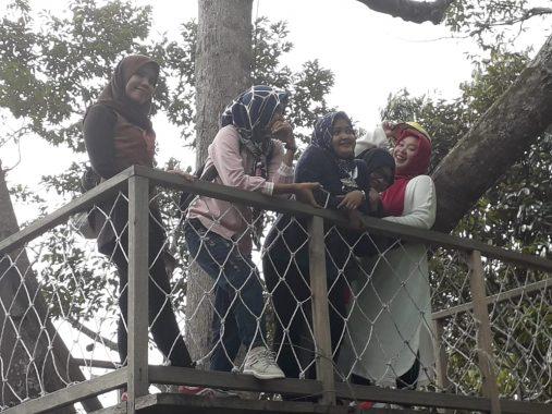 Pengunjung Camp 91 Kedaung Bandar Lampung Ingin Akses Jalan Diperbaiki