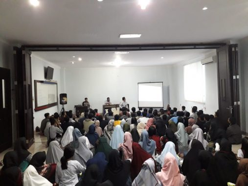 Agus Widodo Motivasi Ratusan Peserta Tryout SBMPTN Hafara-FKAR Bandar Lampung