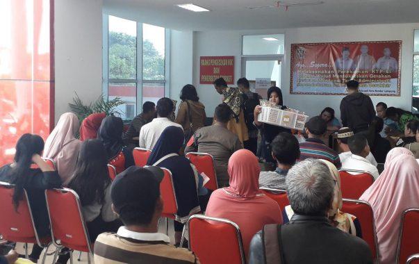 Warga Akui Mudah Urus KK di Gedung Pelayanan Satu Atap Pemkot Bandar Lampung