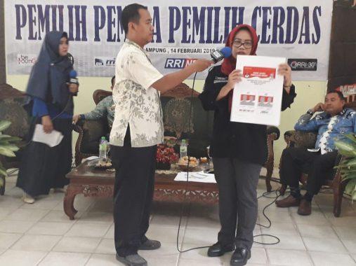 Gencarkan Sosialisasi ke Pemilih Pemula, KPU Bandar Lampung Beri Informasi Kepemiluan di SMAN 5 Bandar Lampung