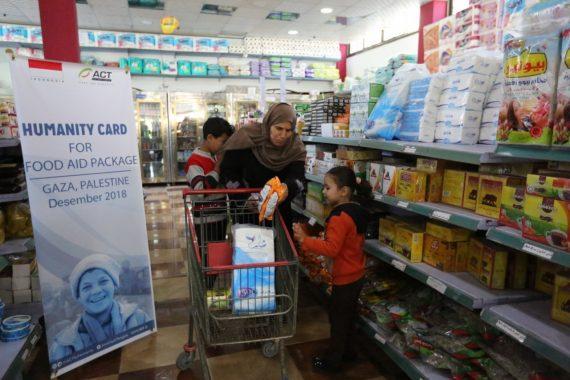 Humanity Card Kembali Hadirkan Pangan untuk Warga Gaza Palestina