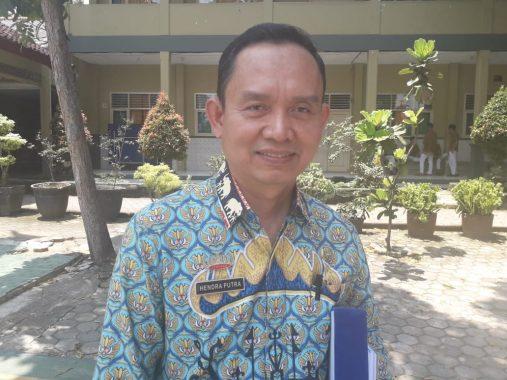 Kepala SMAN 5 Bandar Lampung Hendra Putra Senang Siswanya Dapat Sosialisasi dari KPU Setempat