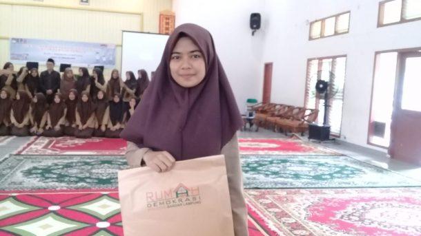 Siswa MAN 1 Bandar Lampung Dapat Sosialisasi Pemilu KPU Bandar Lampung