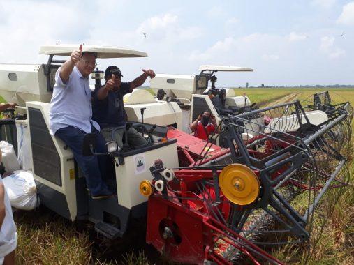 Lampung Penopang Produksi Beras Nasional, Sudin: Kita Bantu Petani