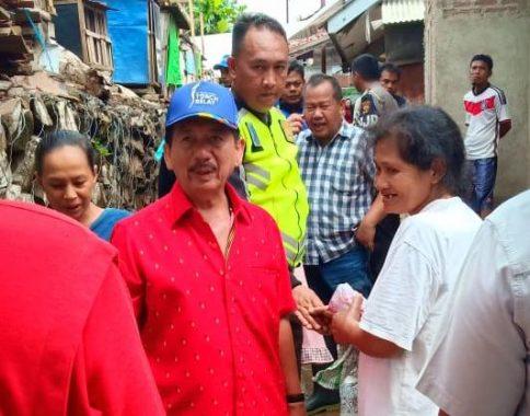 Wali Kota Bandar Lampung Herman HN Janji Perbaiki Rumah Warga yang Rusak Dilanda Banjir