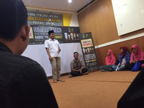 17 Anak Muda Lampung Adu Casting untuk Film PKS