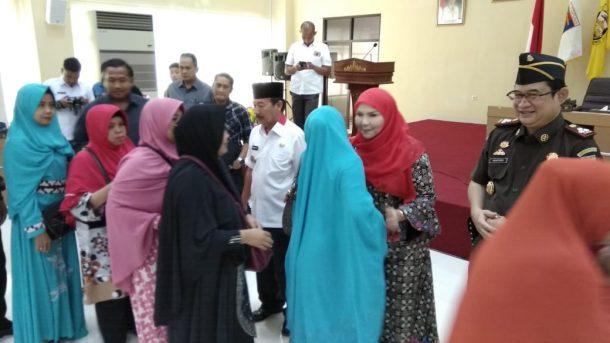 Wali Kota Bandar Lampung Herman HN Lepas Jamaah Umrah