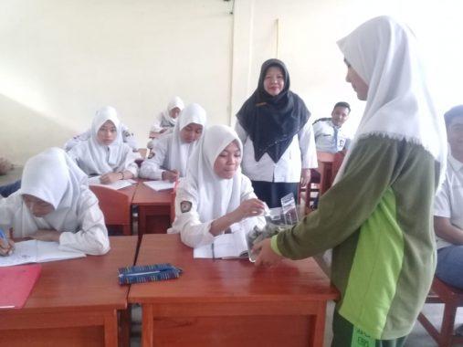 IZI Lampung dan SMAN 6 Bandar Lampung Program Wakaf Muhammad Teladanku