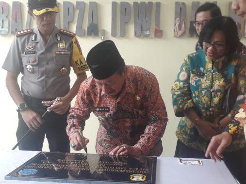Wali Kota Bandar Lampung Herman HN Resmikan Poliklinik Rehabilitasi Narkoba dan HIV/AIDS