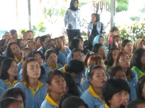 KPU Bandar Lampung Sosialisasi Pemilu di LP Perempuan Way Huwi