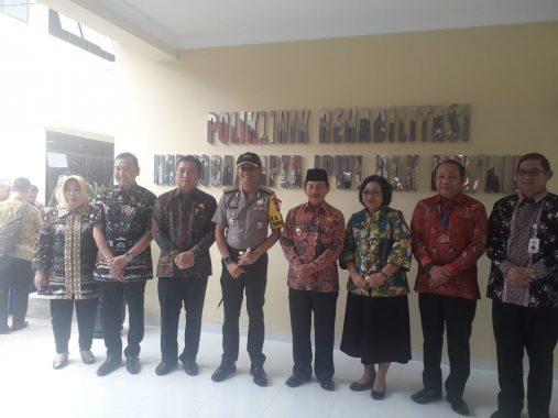 Wali Kota Herman HN Resmikan Poliklinik Rehabilitasi Narkoba, BNN Sambut Baik