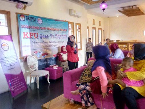 Sosialisasi ke Perempuan Saburai, KPU Bandar Lampung Ajak Tolak Golput