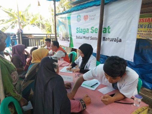 Baitul Maal Semen Baturaja Gandeng Rumah Zakat Bantu Korban Tsunami Selat Sunda