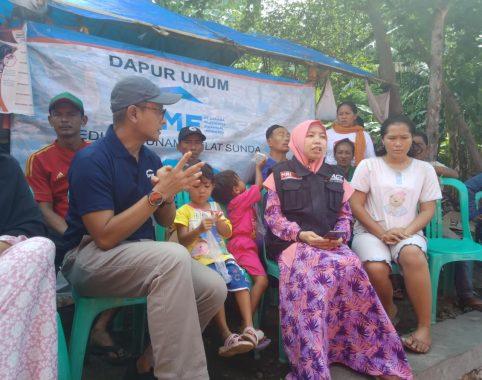 Dapur Umum SMF-ACT Lampung Ringankan Beban Korban Tsunami Selat Sunda